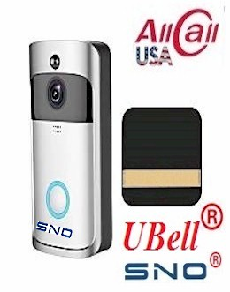 Ubell 174 Allcall Wireless Door Bell Video